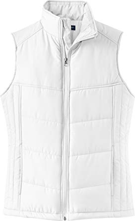Puffy Vest port authority ladies puffy vest. l709 [apparel] GDXIFUW